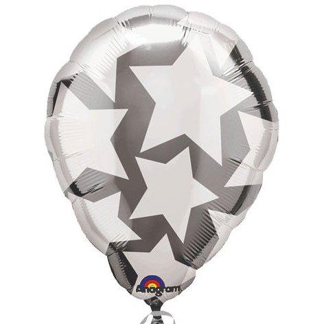 "Anagram International Perfect-Flat Balloon, 18"", White - 1"