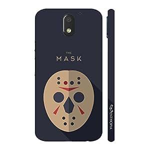Enthopia Designer Hardshell Case Bad Man Mask 1 Back Cover for Motorola Moto E (3rd Gen)