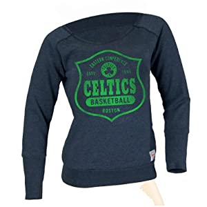 Boston Celtics NBA Ladies Arch Hamlin Sweatshirt L by Sportiqe