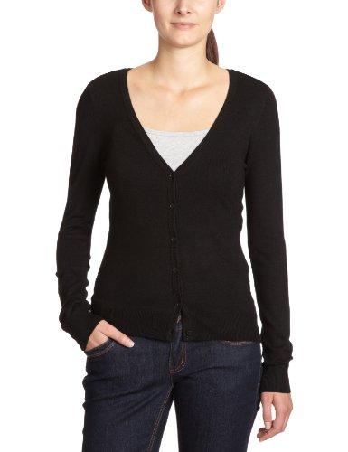 Vero Moda - Jersey lavorato a maglia Glory New, Manica lunga, Donna, Nero (Black), L