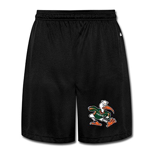 Mens Miami Hurricanes Football Mark Richt Jogger Shorts (Miami Hurricanes Football Pants compare prices)