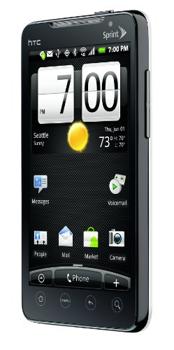 HTC EVO 4G Android Phone, White (Sprint)