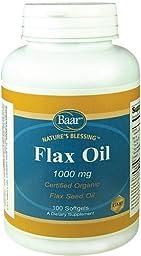 Flax Seed Oil Softgels
