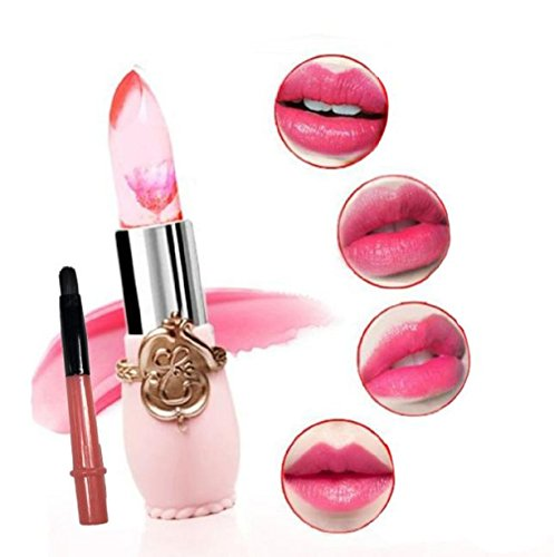 Waterproof Long Lasting Moisturize Lipstick Lip Gloss (Red) (Clear Pink Tint Nail Polish compare prices)