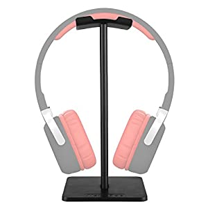 Universal Headphone Holder Portable Headset Stand Display Holder Stand --white