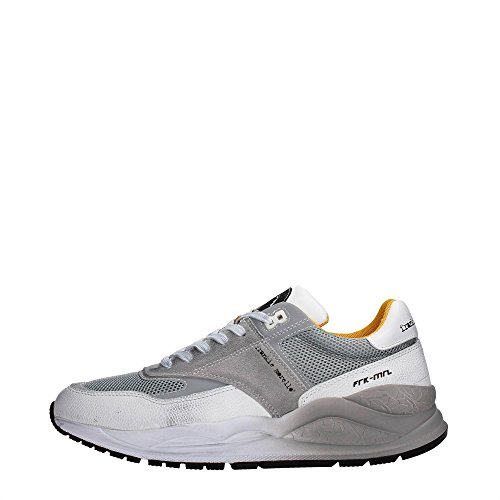 Frankie Morello 04WG Sneakers Uomo Tessuto White/Grey White/Grey 40