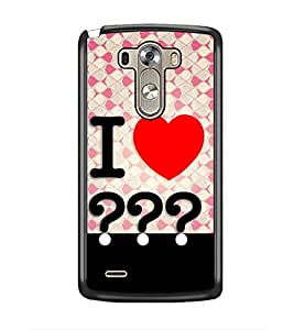 PrintDhaba Quote D-3852 Back Case Cover for LG G3 (Multi-Coloured)