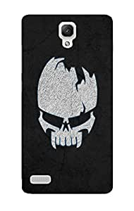 Back Cover for Redmi Note Prime raw skull