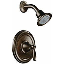 Moen T2152EPORB Brantford Posi-Temp Shower Trim Kit without Valve, Oil Rubbed Bronze