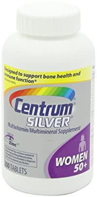 Centrum Silver, For Women 50+-Mega Size Package-750-Count