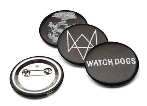 ThinkGeek Watch Dogs Pins - 1