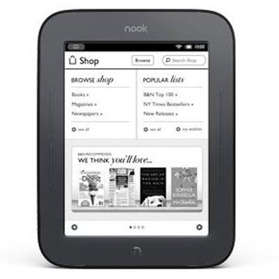 Barnes &amp; Noble Nook Simple Touch eBook Reader (Wi-Fi Only)