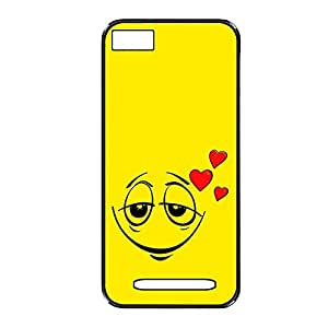 Vibhar printed case back cover for Xiaomi Mi 4i LoveEmoticon