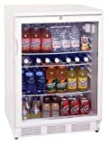 Summit Undercounter Glass Door with Lock Beverage Cooler