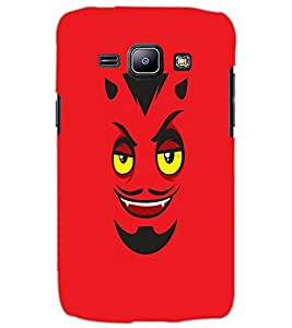 SAMSUNG GALAXY J1 DEVIL SMILE Back Cover by PRINTSWAG