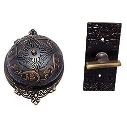 Adonai Hardware Belshazzar Brass Manual Old Fashion Door Bell
