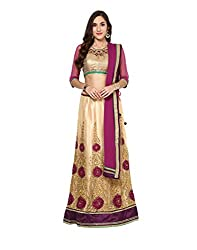 Yepme Women's Multi-Coloured Blended Lehengas - YPMLEHG0095_Free Size