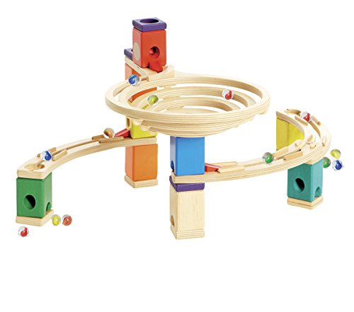 Hape - Quadrilla - Round About Marble Railway in Wood