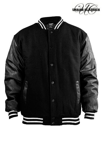 Urban Classics College Jacket Half-Leather online bestellen