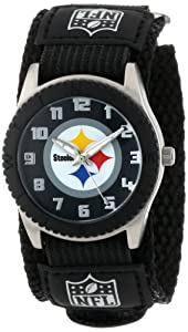 Game Time Mid-Size NFL-ROB-PIT Rookie Pittsburgh Steelers Rookie Black Series Watch