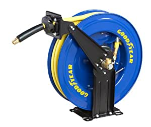 GOODYEAR 46741 1/2-Inch by 50-Feet Retractable Air Hose Reel