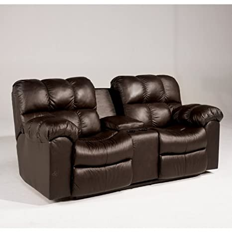 Chocolate Reclining Loveseat