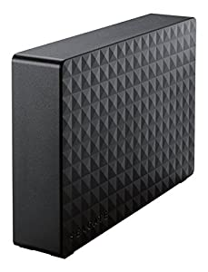 Seagate HDD 外付けハードディスク 4.0TB USB3.0 PC/TV録画対応 New Expansion SGD-FNX040UBK