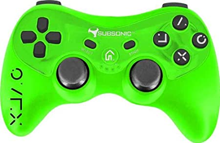 Pocket Pro Controller Flou Touch - Green (PS3)