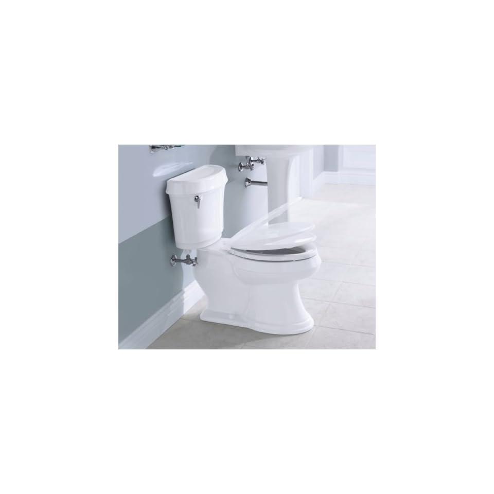 Astounding Kohler K 4636 0 Cachet Quiet Close Elongated Toilet Seat Inzonedesignstudio Interior Chair Design Inzonedesignstudiocom