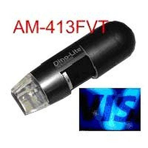 Dino-Lite Am413Fvt Near Fluorescent Uv (Ultraviolet Light) Handheld Digital Microscope