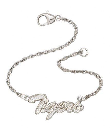 Detroit Tigers MLB Sterling Silver Script Bracelet