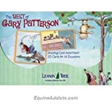 Best of Gary Patterson - Funny Greeted Card Assortment by Leanin' Tree - 20 greeted cards with full-color interiors and envelopes