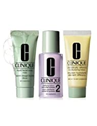 Clinique 3 Steps Travel Size Set for Very Dry to Dry Combination Skin