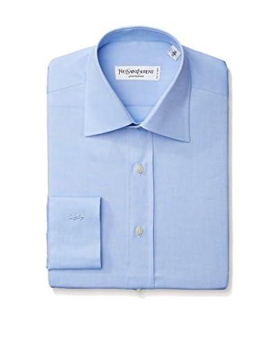 Yves Saint Laurent Men's Solid Oxford Dress Shirt