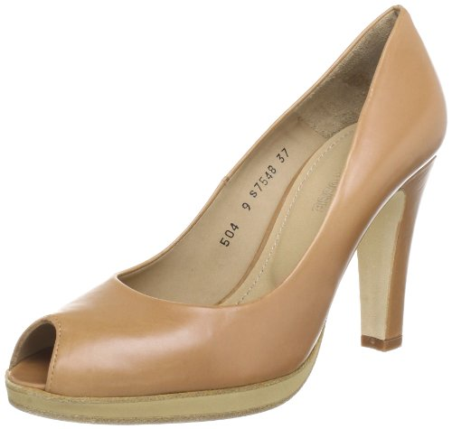 Lottusse Womens S7548 Pumps Brown Braun (cuero) Size: 5.5 (38.5 EU)