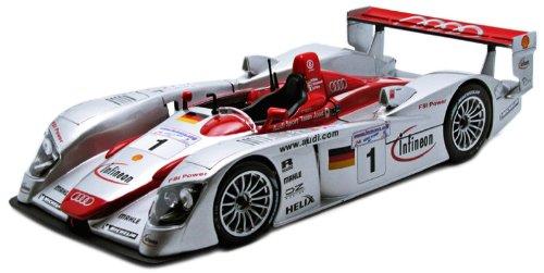 MAISTO 1/18 (38659) AUDI R8 Infineon #1 Le Mans 2002
