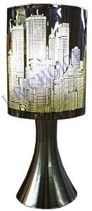 Orbit Lime york Skyline Stylish Table Lamp Light with Chrome Base by Ur Choice