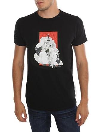 InuYasha Sesshomaru Crouching T-Shirt Size : X-Small