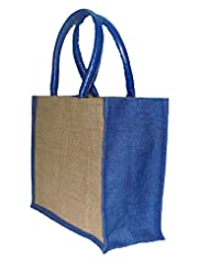 Foonty Small Blue Jute Bag