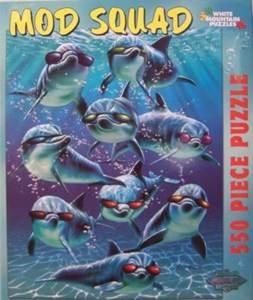 Mod Squad Jigsaw Puzzle 550pc