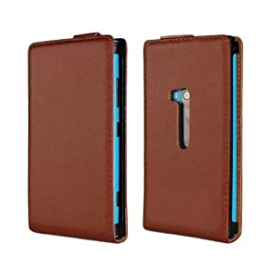 Pouch Case Cover for Nokia Lumia 920 Brown: Cell Phones & Accessories