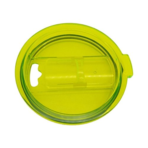 Lid For Yeti,30 oz Rambler Tumbler,Spill Proof & Splash Resistant Green Color