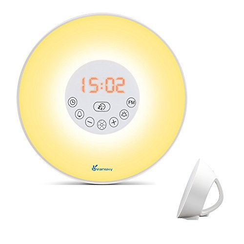 Sunrise Alarm Clock Wake Up Night Light
