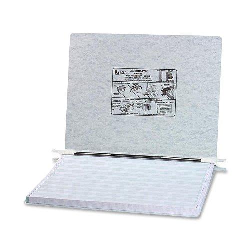 Acco Presstex Data Binder, 14 7/8 x 11 Inch Sheet Size, Dark Gray,  (A7054074A)