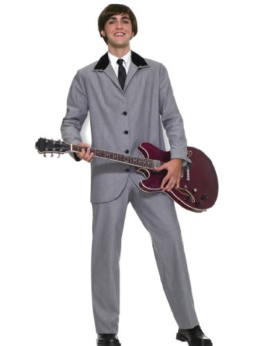 British Invasion 60s Band Costume Suit Jacket and Pants Theatrical Mens Costume