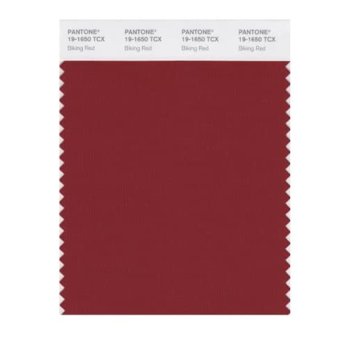 PANTONE SMART 19-1650X Color Swatch Card, Biking Red - House Paint