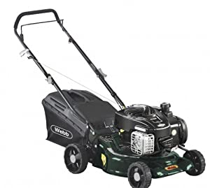 Webb R16HP Hand Propelled 16inch Petrol Lawn Mower