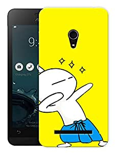 """Humor Gang Cute Cartoon Cat Dancing In Lungi Anna Printed Designer Mobile Back Cover For """"Asus Zenfone 5"""" (3D, Matte, Premium Quality Snap On Case)"""