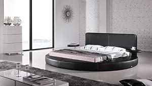 oslo round bed king size black kitchen dining. Black Bedroom Furniture Sets. Home Design Ideas