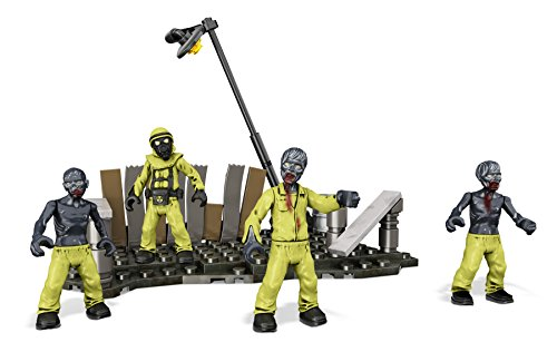 Mega Bloks Call of Duty Hazmat Zombies Mob Playset